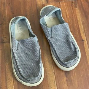 Sanuk Canvas Slip On Loafers Shoes